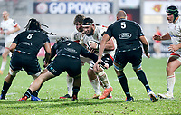 Monday 9th November 2020 | Ulster Rugby vs Glasgow Warriors<br /> <br /> Marcell Coetzee during the Guinness PRO14 Round 5 match between Ulster Rugby and Glasgow Warriors at Kingspan Stadium in Belfast, Northern Ireland. Photo by John Dickson / Dicksondigital