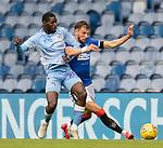 25.07.2020 Rangers v Coventry City: Borna Barisic and Amadou Bakayoko