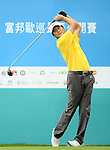 TAIPEI, TAIWAN - NOVEMBER 19:  Jung-chun Chen of Taiwan tees off on the 10th hole during day two of the Fubon Senior Open at Miramar Golf & Country Club on November 19, 2011 in Taipei, Taiwan. Photo by Victor Fraile / The Power of Sport Images