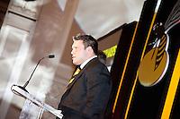 Photo: Richard Lane/Richard Lane Photography. London Wasps End of Season Awards Dinner, 09/05/2012. Ben Broster.