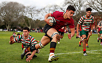 Kings Colleg 1st XV v Westlake, Blues Final, Kings College, Auckland, Saturday 31 August 2019. Photo: Simon Watts/www.bwmedia.co.nz
