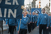 Vetrans for Peace march to the Cenotaph and lay a wreath on Rememberance Sunday 2018. Whitehall, London 11-11-18