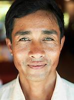 A local guide in Siem Reap Province, Cambodia