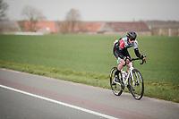 Andre Carvalho (POR/Hagens Berman Axeon)<br /> <br /> 74th Nokere Koerse 2019 <br /> One day race from Deinze to Nokere / BEL (196km)<br /> <br /> ©kramon