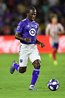 Orlando, FL - Wednesday July 31, 2019:  Diego Chara #21 during an Major League Soccer (MLS) All-Star match between the MLS All-Stars and Atletico Madrid at Exploria Stadium.