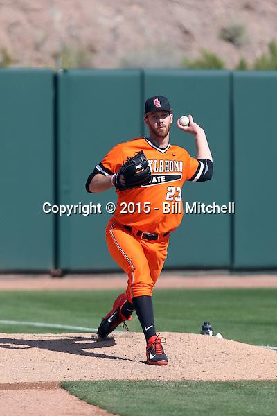 Michael Freeman - 2015 Oklahoma State Cowboys (Bill Mitchell)