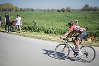 Jens Debusschere (BEL/Lotto-Soudal) chasing<br /> <br /> 115th Paris-Roubaix 2017 (1.UWT)<br /> One Day Race: Compiègne › Roubaix (257km)