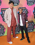 Jackie Chan & Jayden Smith at Nickelodeon's 23rd Annual Kids' Choice Awards held at Pauley Pavilion in Westwood, California on March 27,2010                                                                                      Copyright 2010 © DVS / RockinExposures
