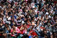 BOGOTA -COLOMBIA , 03- Agosto-2016. Tetatón 2016.Decenas de madres lactantes se reunieron en el parque de los Novios para manifestarse para pedir paz y respeto a su condición .  / 2016 Tetatón . Hundreds of nursing mothers gathered in the park to protest the couple to seek peace and respect for their condition. Photo: VizzorImage / Iván Valencia  / Contribuidor