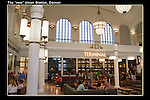"""Interior of Union Station, Denver.<br /> From John's 5th book: """"Denver Colorado: A Photographic Portrait."""" Sunset and night photo tours of Denver by John.  Click the above CONTACT button for inquiries. Denver private tours."""