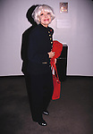 Carol Channing attends the 'Picnic' Opening Night performance at the Roundabout Theatre Company on April 21, 1994 in New York City.