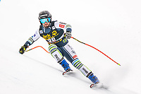 29th December 2020; Stelvio, Bormio, Italy; FIS World Cup Super G for Men;  Martin Cater of Slovenia in action during his run for the men Super G race