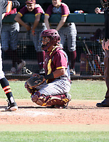 NAME of Nogales Apaches plays in the Boras Classic of Arizona on March 14, 2020 at Corona Del Sol High School in Tempe, Arizona  (Bill Mitchell)