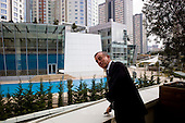 Istanbul, Turkey<br /> March 11, 2011<br /> <br /> Just outside of his office Ali Ibrahim Agaoglu, age 56, is the chairman of 25-year-old Agaoglu Group, a builder of hotels, resorts, and ski lodges in Turkey; also one of Turkey's biggest housing providers. Even during 2009 downturn, was moving ahead with plans to eventually build 24,000 houses in four projects in Istanbul. Net worth according to Forbes Magazine on March 10, 2011 is $2 billion US; owns 90 million square feet of developable land on western coast of Turkey and continues to buy up parcels opportunistically. His Istanbul residential estate project called My City Bahcelievler sold 300 units in 3 days in mid-February. Announced plans to invest $2 billion in tourism projects including hotels and malls. Started working right after high school. Divorcee's so-called playboy antics with bikini-clad younger women closely tracked by local media. Hops around in his $4.5 million Bell 430 helicopter.  Passionate about luxury cars, has a Lamborghini, two Bentleys and a Ferrari California.