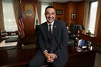 Special Agent in Charge Raymond P. Donovan in his New York office, Manhattan, NY, Friday, April 5, 2019.  Donovan, 49, is the new head of the DEA's New York Division.<br /> <br /> <br /> PICTURED:   <br /> <br /> <br /> (Angel Chevrestt, 646.314.3206)
