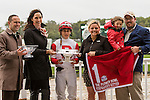 October 3, 2015:  Stephanie's Kitten with Irad Ortiz, Jr. win the Grade I Flower Bowl Stakes for fillies & mares, 3-year old & up, going 1 1/4 mile on the turf at Belmont Park.  Trainer Chad C. Brown. Owner Kenneth & Sarah Ramsey. Sue Kawczynski/ESW/CSM