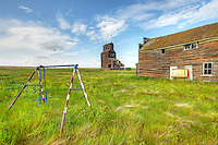 Ghost town Bents, Saskatchewan, Canada