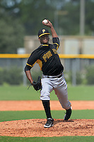 Pittsburgh Pirates pitcher Hector Garcia (43) during an Instructional League game against the Tampa Bay Rays on September 27, 2014 at the Charlotte Sports Park in Port Charlotte, Florida.  (Mike Janes/Four Seam Images)