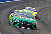 2017 Monster Energy NASCAR Cup Series<br /> Auto Club 400 Auto Club Speedway, Fontana, CA USA<br /> Sunday 26 March 2017<br /> Daniel Suarez, Subway Toyota Camry and Dale Earnhardt Jr<br /> World Copyright: Russell LaBounty/LAT Images<br /> ref: Digital Image 17FON1rl_5933