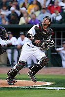 June 17th 2008:  Sean Coughlin of the South Bend Silver Hawks, Class-A affiliate of the Arizona Diamondbacks, during the Midwest League All-Star Game at Dow Diamond in Midland, MI.  Photo by:  Mike Janes/Four Seam Images