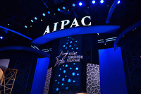 Washington, DC - March 1, 2020: The AIPAC Policy Conference at the Washington Convention Center March 1, 2020.  (Photo by Don Baxter/Media Images International)