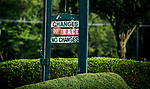 SARATOGA SPRINGS, NY - AUGUST 26: No Changes sign at Saratoga Race Course on August 26, 2017 in Saratoga Springs, New York.(Photo by Alex Evers/Eclipse Sportswire/Getty Images)