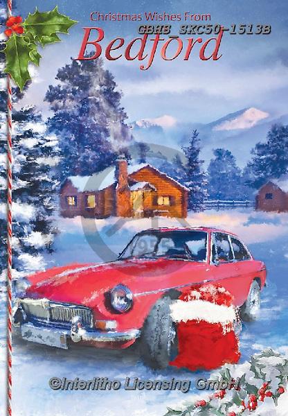 John, CHRISTMAS LANDSCAPES, WEIHNACHTEN WINTERLANDSCHAFTEN, NAVIDAD PAISAJES DE INVIERNO, paintings+++++,GBHSSXC50-1513B,#xl#