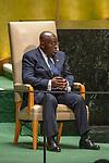 General Assembly Seventy-fourth session, 5th plenary meeting<br /> <br /> His Excellency Nana Addo Dankwa Akufo-Addo, President, Republic of Ghana