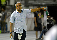 BARRANQUIILLA - COLOMBIA,9-03-2018: Alexis Mendoza director técnico del Atlético Junior.Atlético Junior y Deportivo Cali en partido por la fecha 7de la Liga Águila I 2018 jugado en el estadio Metropolitano Roberto Meléndez de la ciudad de Barranquilla. / Alexis Mendoza coach of Atletico JuniorAtletico Junior and Deportivo Cali in match for the date 7 of the Aguila League I 2018 played at Metropolitano Roberto Melendez stadium in Barranquilla city.  Photo: VizzorImage / Alfonso Cervantes / Contribuidor