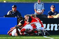 Germany celebrate the goal of Alexandra Popp..FIFA U17 Women's World Cup, Semi Final, Germany v USA, QEII Stadium, Christchurch, New Zealand, Thursday 13 November 2008. Photo: Renee McKay/PHOTOSPORT
