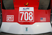 #708 GLICKENHAUS RACING (USA) GLICKENHAUS 007 LMH HYPERCAR - Luis Felipe Derani (BRA) - Gustavo Menezes (USA) - Olivier Pla (FRA)