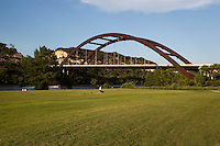 360 Bridge is a great location to walk dogs watch the boats on Lake Austin