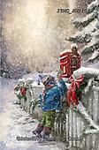 Marcello, CHRISTMAS CHILDREN, WEIHNACHTEN KINDER, NAVIDAD NIÑOS, paintings+++++,ITMCXM1131A,#xk# ,playing in snow