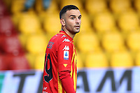 Roberto Insigne of Benevento Calcio looks on<br /> during the Serie A football match between Benevento Calcio and SSC Napoli at stadio Ciro Vigorito in Benevento (Italy), October 25th, 2020. <br /> Photo Cesare Purini / Insidefoto