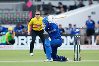 Charlie Dean, London Spirit is bowled during London Spirit Women vs Trent Rockets Women, The Hundred Cricket at Lord's Cricket Ground on 29th July 2021