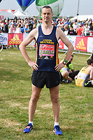 Paul Tonkinson<br /> at the start of the 2017 London Marathon on Blackheath Common, London. <br /> <br /> <br /> ©Ash Knotek  D3253  23/04/2017