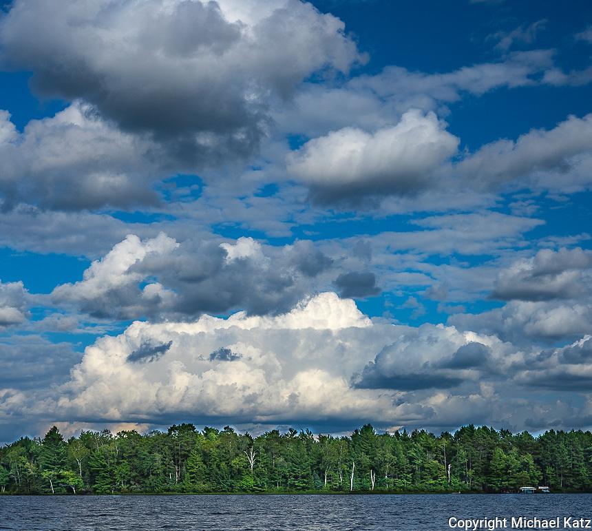 Northern Wisconsin Lake, Summer