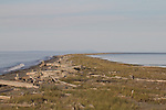 Dungeness Spit, beachcombers, Dungeness National Wildlife Refuge, Olympic Peninsula, Puget Sound, Washington State,