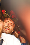MICHAEL SHEEN<br /> THE PASSION PLAY AT PORT TALBOT, WALES.<br /> FEATURING MICHAEL SHEEN.<br /> TRIAL   PROCESSION    CRUCIFICTION <br /> <br /> 23.04.2011 <br /> © Neil Beer   www.neilbeer.com