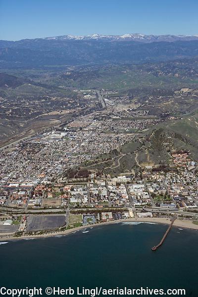 aerial photograph of Ventura, California