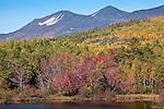 Mt Oji in autumn, Baxter State Park, ME
