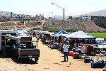 open air flea market