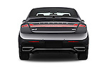 Straight rear view of 2018 Lincoln MKZ Reserve 4 Door Sedan Rear View  stock images