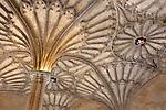 Great Britain, England, Oxfordshire, Oxford: Vaulted ceiling of The Hall of Christ Church College (founded by Cardinal Wolsey in 1525), part of Oxford University | Grossbritannien, England, Oxfordshire, Oxford: Gewoelbedecke der Halle des Christ Church Colleges (gegruendet von Cardinal Wolsey 1525), gehoeren zur Oxford University