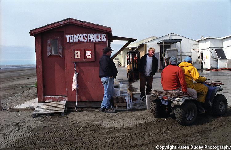 Prices paid to salmon fishermen in Bristol Bay, Alaska.