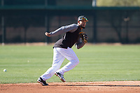 Chicago White Sox infielder Jose Rondon (71) during Spring Training Camp on February 25, 2018 at Camelback Ranch in Glendale, Arizona. (Zachary Lucy/Four Seam Images)
