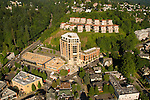 Aerial of the Westerly and Hilltop Condominiums, Portland, Oregon