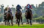 MAY 29, 2021: Award Winner with Juan Hernandez defeats Acclimate and Ricardo Gonzalez to win the Charlie Whittingham Stakes at Santa Anita Park in Arcadia, California on May 29, 2021. EversEclipse Sportswire/CSM