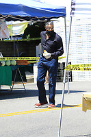 Keith David Shops For Veggies In Los Angeles