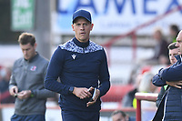 Stevenage FC Manager Alex Revell during Stevenage vs Exeter City, Sky Bet EFL League 2 Football at the Lamex Stadium on 9th October 2021